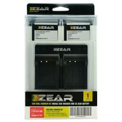 Zear Kit Canon Bateria LP-E17 + Cargador Dual USB
