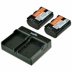Jupio Kit Batería NP-FW50 + Cargador Dual USB