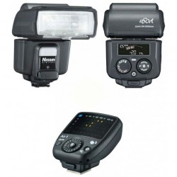 Nissin i60 Kit 2 Flash + Transmisor Air 1