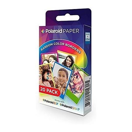 Polaroid 2x3 Zink Rainbow 20 fotos