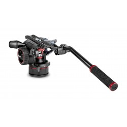 Manfrotto Rótula vídeo Nitrotech N12. Base plana