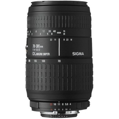 Sigma 70-300mm f4-5.6 DL Macro Super