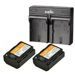 Jupio Kit Batería NP-FZ100 + Cargador Dual USB