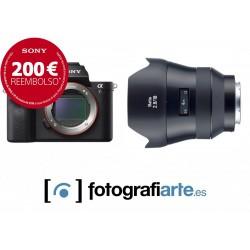 Sony Alpha 7r II + Zeiss Batis 18mm f1.8