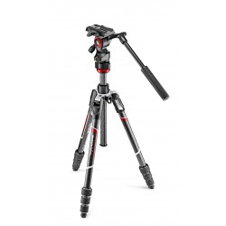 Manfrotto Befree Live Twist Lock - Carbono