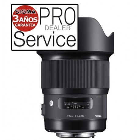 Objetivo Sigma 20mm f1.4 DG HSM Art | Sigma Lens