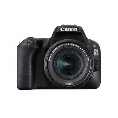 Canon Eos 200d Negra + 18-55 IS STM CP