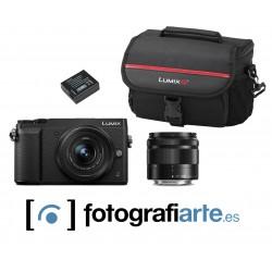 Panasonic GX80 + 12-32mm + 35-100mm + Bateria + Estuche PGS81