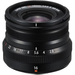Objetivo Fuji 16mm f2,8 | Fuji 16mm plata