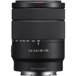 Objetivo Sony 18-135mm
