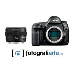 Canon Eos 5d Mark IV + 50mm f1.4 USM