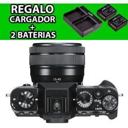 Fuji XT30 + 15-45mm