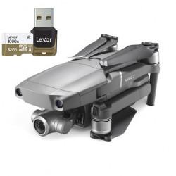 DJI Mavic 2 Zoom + tarjeta Lexar MicroSD 1000x 32GB