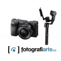 Sony A6400 + 16-50mm + Zhiyun Crane Plus