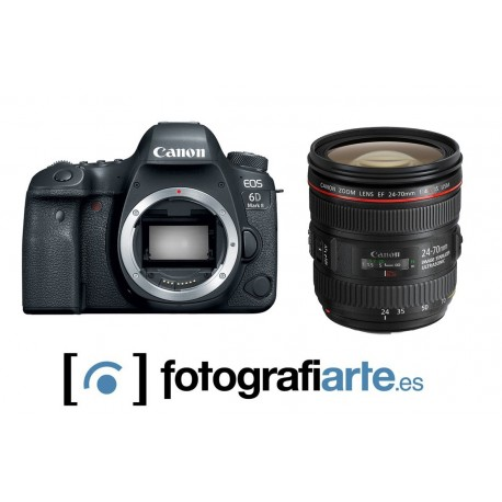 Canon EOS 6d Mark II + 24-70mm f4 L IS EF
