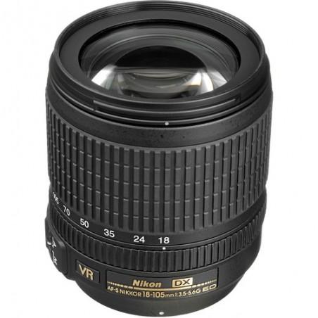 Nikon 18-105mm f3.5-5.6 DX G ED VR AF-S