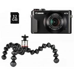 Canon PowerShot G7x Mark II Vlogger Kit