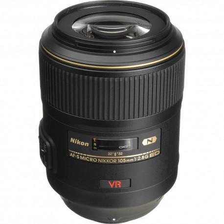 Objetivo para fotografía macro Nikon 105mm f2.8
