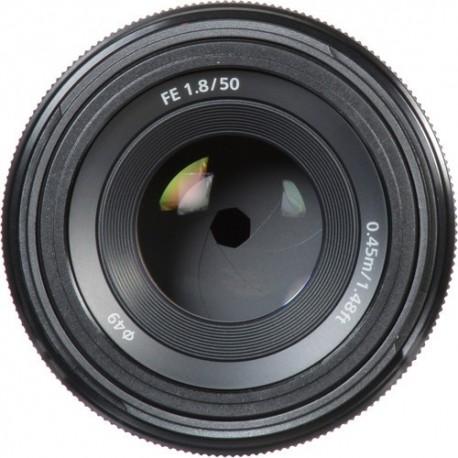 Objetivo Sony 50mm FE f1.8