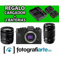 Fuji XT30 + 18-55mm + 55-200mm