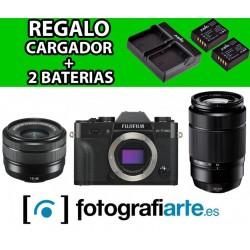Fuji XT30 + 15-45mm + 50-230mm