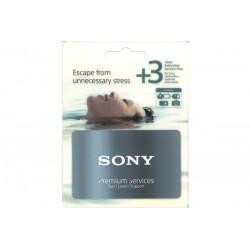 Sony extensión de garantía +3 Años