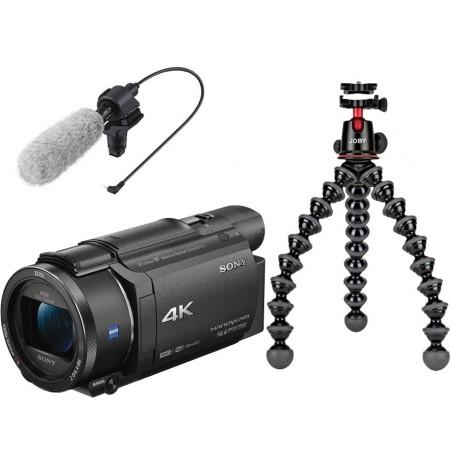 Sony FDR-AX53 + GorillaPod + micro CG60