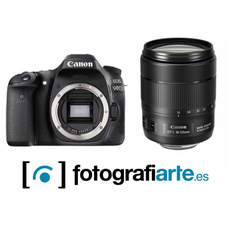 Canon Eos 90D + 18-135mm