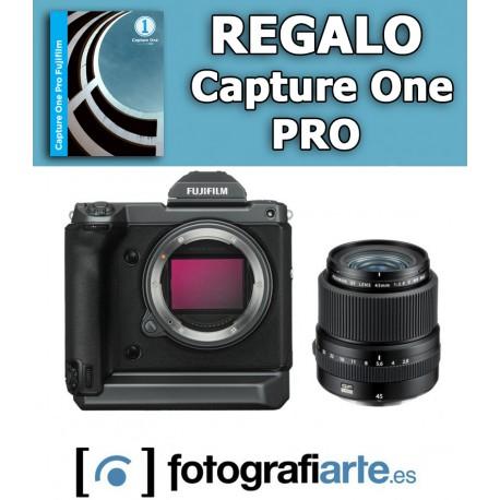 Fuji GFX 100 + 45mm