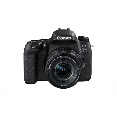 Canon Eos 77d + 18-55mm + 50mm f1.8