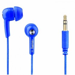 Hama AUDIO Auricular IN 4 MUSIC AZUL