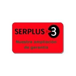 Ampliación de garantía Serplus3 Rojo