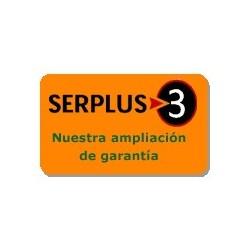 Ampliación de garantía Serplus3 Naranja