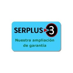 Ampliación de garantía Serplus3 Azul