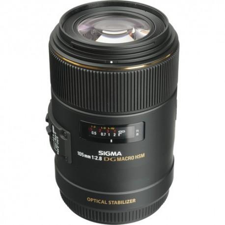 Objetivo Sigma 105mm f2.8 EX DG OS Macro