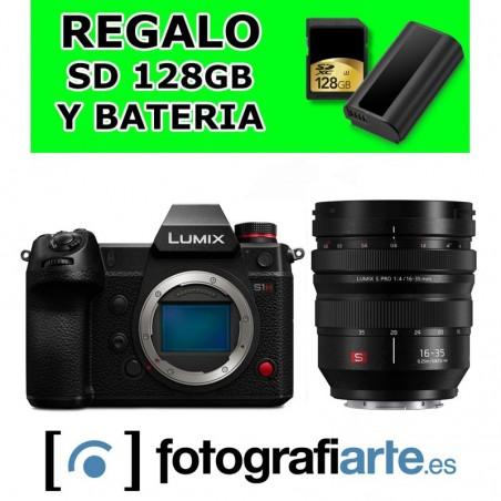 Panasonic S1H + 16-35mm f4