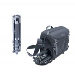 Kit de trípode Veo 2GO 204AB y bolsa Veo GO 34M BK