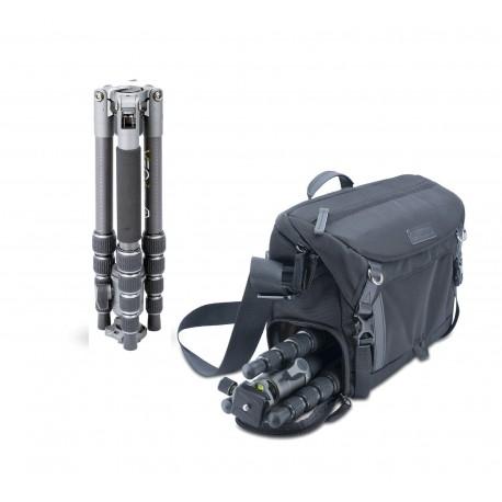 Vanguard Kit de trípode Veo 2GO 235CB y bolsa Veo GO 34M BK
