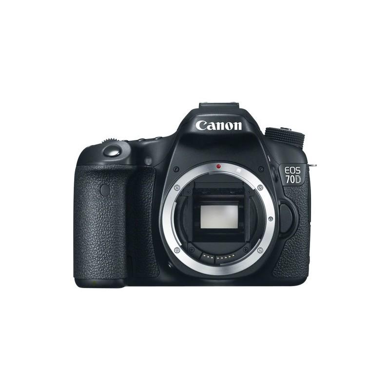 camara digital reflex Canon Eos 70d cuerpo