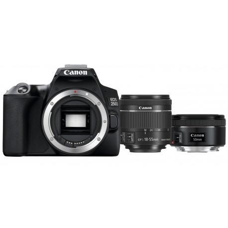 Canon 250D + 18-55mm + 50mm f1.8 | Kit Retratos Canon 250D