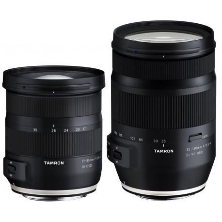 Tamron 17-35mm + 35-150mm   Kit avanzado Tamron
