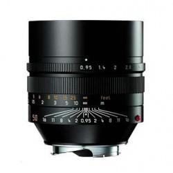 Leica 50mm f0.95 Noctilux M Negro