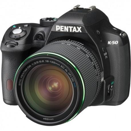 Pentax K50 + 18-135mm Wr