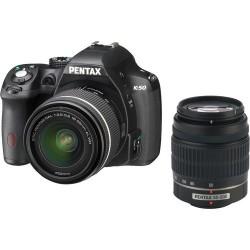 Pentax K50 + 18-55mm Wr +50-200mm WR