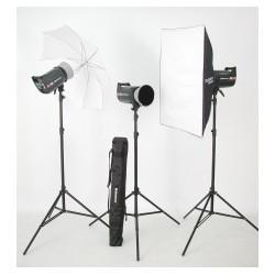 Elinchrom ELC Pro HD 1000 x 3 Cabezas