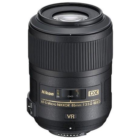 Nikon 85mm f3.5 DX G ED VR AF S