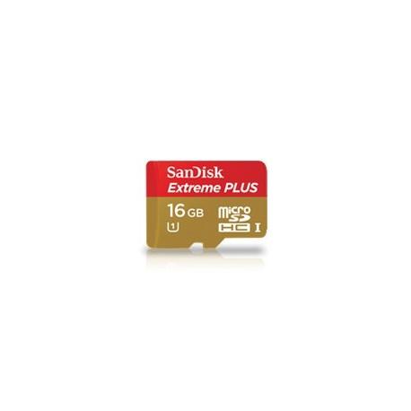 SanDisk 16 Gb micro SDHC Extreme Plus Clase 10