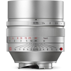 Leica 50mm f0.95 Noctilux M Cromado