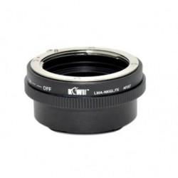 Kiwifotos Adaptador Fuji X a Nikon G
