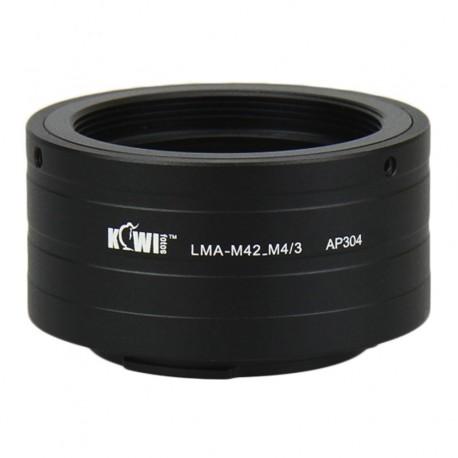 Kiwifotos Adaptador Micro 4/3 a M42